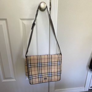 Authentic Burberry London Shoulder Bag
